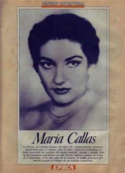 Miguel, de Antonio - Maria Callas