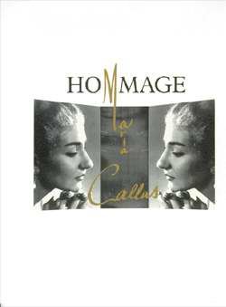 Canal, Henry - Hommáge Maria Callas