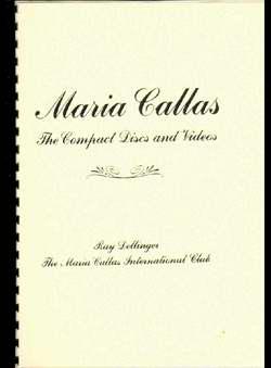 Dellinger, Ray - Maria Callas