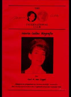 Zoggel, Karl H.van - Maria Callas Biografie