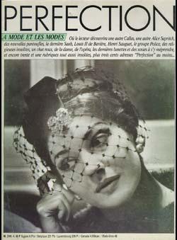 Perfection (Fourone, A. Edit.) - Où le lecteur découvriara une autre Callas..