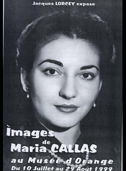 Lorcey, Jacques - Images de Maria Callas. Collection Lorcey