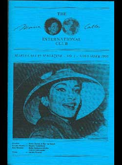 Zoggel, Karl H. van & Handzic, J. - The Maria Callas International Club