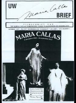 Vandenbergh, Maurice (Edit.) - UW Maria Callas BRIEF