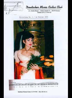 Binner, Gisela (Ed.) - Deutscher Maria Callas Club