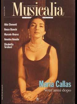 Musicalia  (Ed.) - Maria Callas Vent´anni dopo