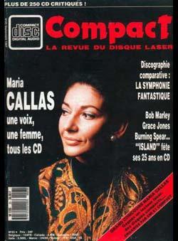 Compact (ed.) (N° 23) - Maria Callas. Une voix,