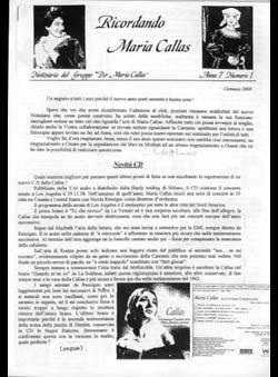 Capanni, Cosimo - Ricordando Maria Callas