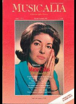 Musicalia (Ed.) - Speciale Maria Callas