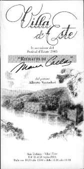 Vantadori, Alberto - Ritratti di Maria Callas