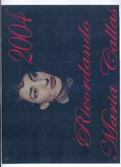 Capanni, Cosimo - Ricordando Maria Callas 2004