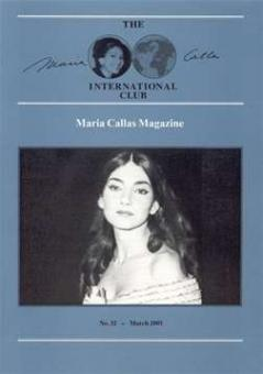 Zoggel, Karl H. van & Pettitt, J. - The Maria Callas International Club