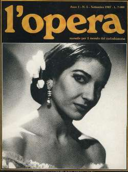 L'Opera (Edit.) - Callas: un applauso senza...