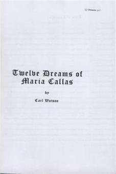 Watson, Carl - Twelve Dreams od Maria Callas
