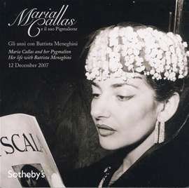 Sotheby's  (Edit.) - Maria Callas