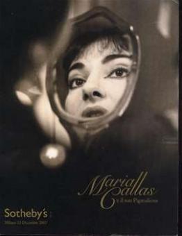 Sotheby's (Edit) - Maria Callas e il suo Pigmalione