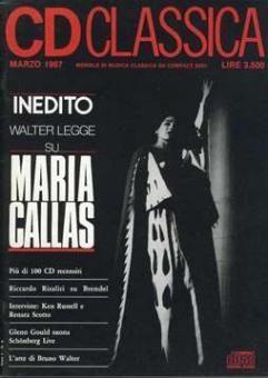 CD Classica (Edit.) - Inedito Walter legge su Maria Callas