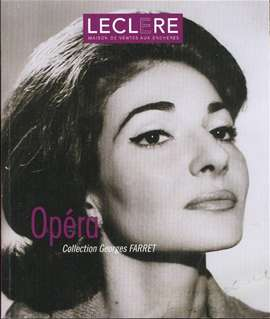 Leclere (Edit.) - Opera. Collection Georges FARRET