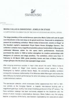 Swarovski - Maria Callas & Swarovski