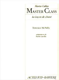 McNally, Terrence - Master Class