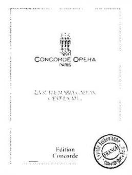 Concorde (Edit.) - La Suite Maria Callas, c'est la 103